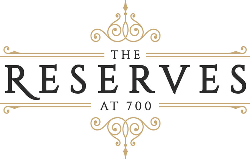The Reserves at 700 logo